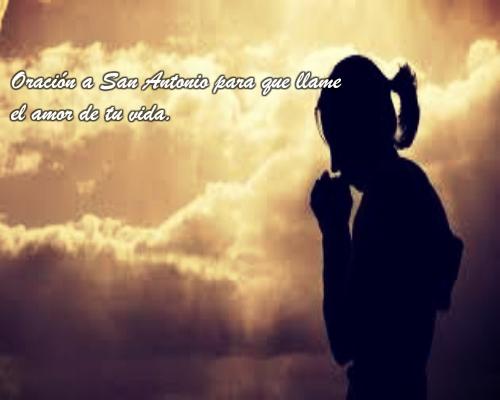 San Antonio de Padua oración para que me llame
