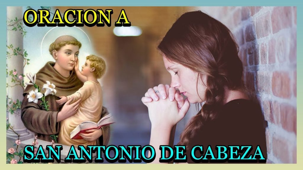 Oración de San Antonio de Cabeza